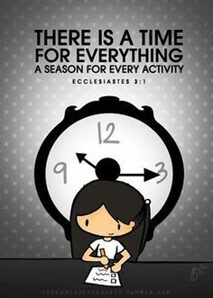 time for everything